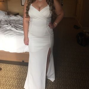 Dresses & Skirts - White formal gown